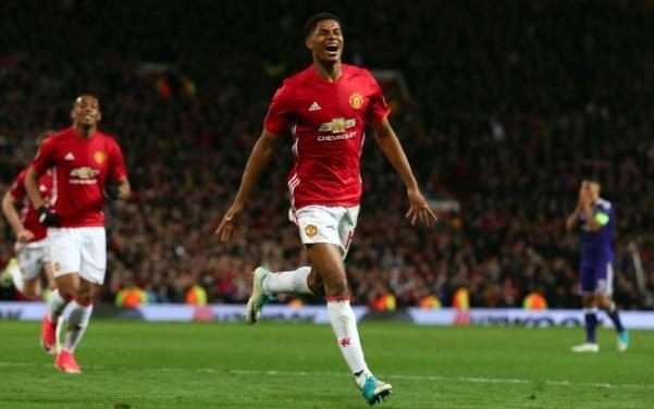 <span>Marcus Rashford was Manchester United's saviour on Thursday evening</span> <span>Credit: Getty Images </span>