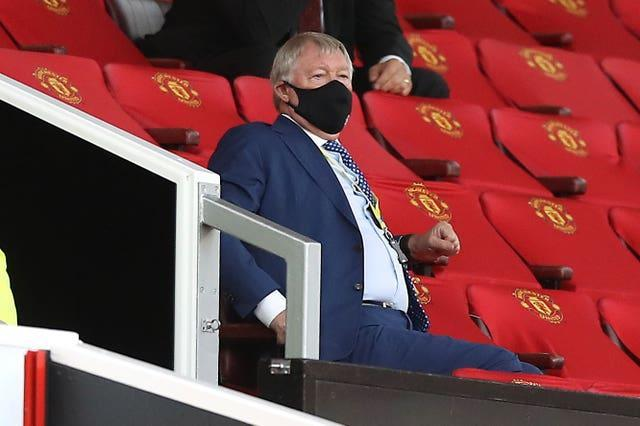 Sir Alex Ferguson has been a regular at Old Trafford during the Covid-19 pandemic
