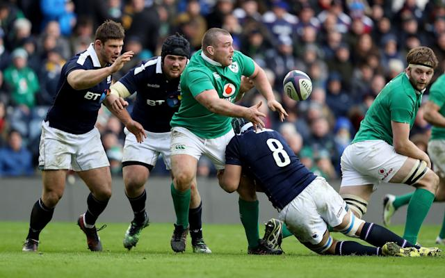 <span>Jack McGrath had a strong Six Nations for Ireland</span> <span>Credit: REX FEATURES </span>