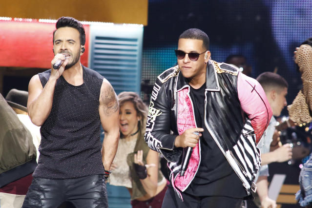 <p>Good question. The VMAs don't have a Latin category, and it was passed over for Video of the Year and Best Collaboration.<br> (Photo: Getty Images) </p>