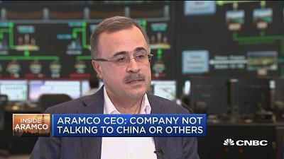 Amin Nasser, Saudi Aramco CEO, talks to CNBC's Andrew Ross Sorkin about the company's upcoming initial public offering.