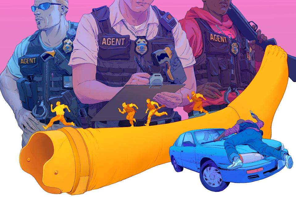 """You may not realize it, but bounty hunting is still alive and well in America in 2019. It's fueled by old laws, loose guidelines, and not-great money. In order to get a closer look inside the world of """"bail enforcement agents,"""" writer Jeff Winkler got licensed and spent months working as a BEA. What he found was a mess for pretty much everyone caught up in a broken system."""