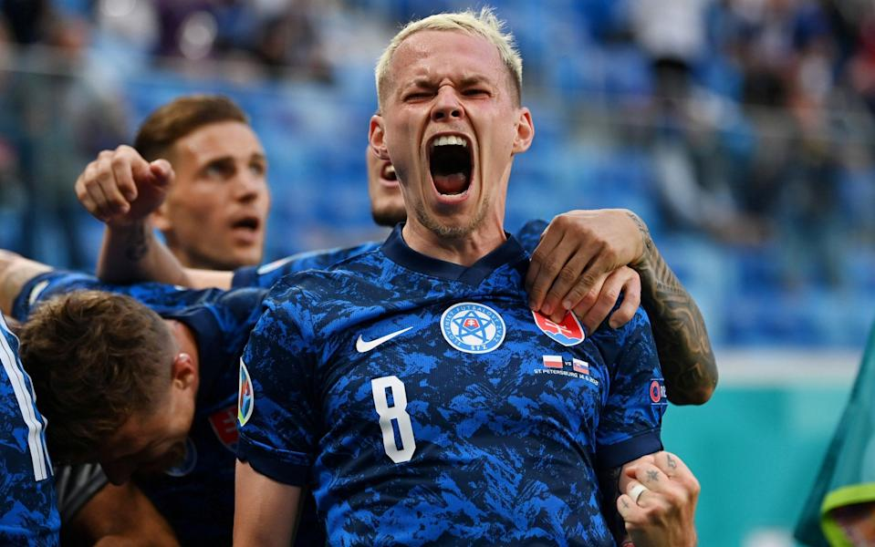 Slovakia have got their Euro 2020 campaign off to a winning start - REUTERS