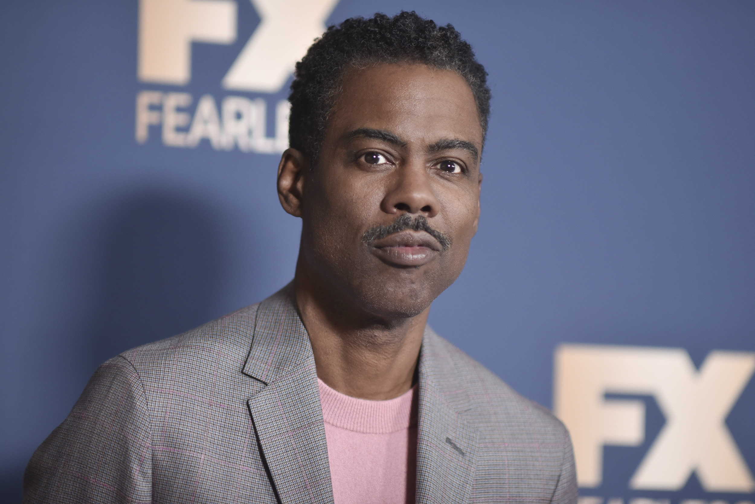 Chris Rock poses at the the FX portion of theTelevision Critics Association Winter press tour on Thursday, Jan. 9, 2020, in Pasadena, Calif. (Photo by Richard Shotwell/Invision/AP)