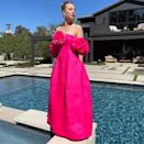 """<p>Kaley Cuoco, nominated for her new series The Flight Attendant, wore a neon off-the-shoulder gown by Prabal Gurung with Messika jewellery and matching shocking pink Christian Louboutin heels.</p><p><a href=""""https://www.instagram.com/p/CNQw5nfBIN8/?utm_source=ig_embed&utm_campaign=loading"""" rel=""""nofollow noopener"""" target=""""_blank"""" data-ylk=""""slk:See the original post on Instagram"""" class=""""link rapid-noclick-resp"""">See the original post on Instagram</a></p>"""