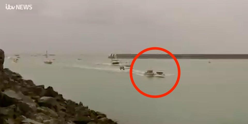 jersey boats colliding