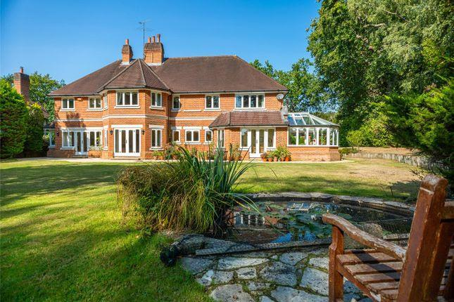 This five-bed on Woodlands Road East in Virginia Water, Surrey is currently on sale for £3m. (Zoopla)