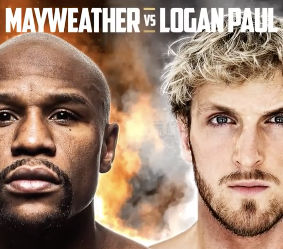 Floyd Mayweather and Logan Paul (Floyd Mayweather / Instagram)