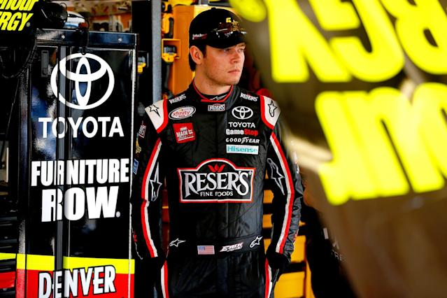 Before 2017, all of Jones' previous Cup appearances had come substituting for Joe Gibbs Racing drivers. (Getty)