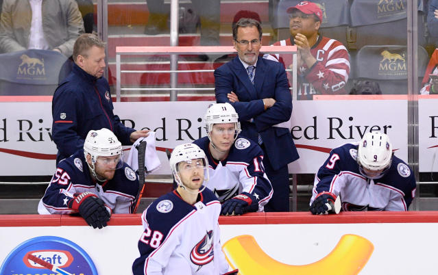 We could be seeing a lot more of this from John Tortorella in 2018-19. (AP Photo/Nick Wass)