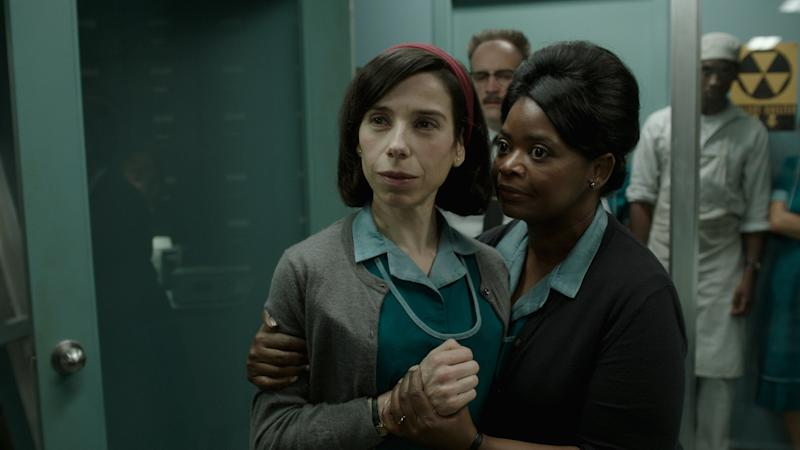 """Sally Hawkins and Octavia Spencer star in """"The Shape of Water."""" (Fox Searchlight)"""