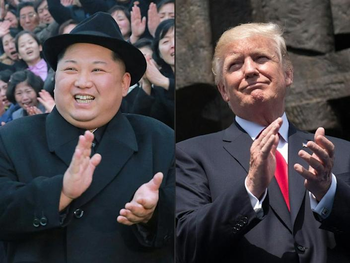 When Donald Trump and Kim Jong Un sit down for talks in Singapore, the issue of denuclearisation is expected to top the agenda -- although there is little agreement on what the word actually means (AFP Photo/-, SAUL LOEB)