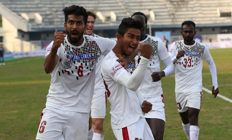 Mohun Bagan lead the I-League after 7 games played. AIFF