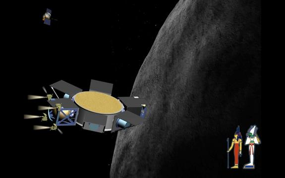 Impactor for Surface and Interior Science (ISIS) nears asteroid target: 1999 RQ36.