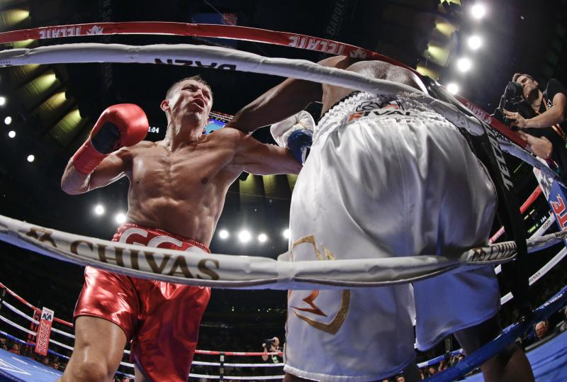 No Garden upset: Golovkin knocks out Rolls in 4th round