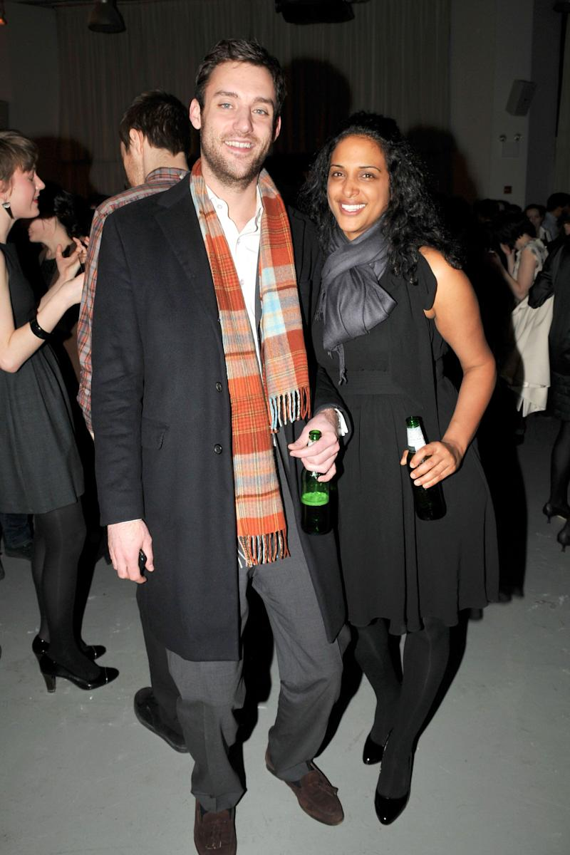 Cooke Maroney and Vanessa Riding attend an after-party at Bar 2000 on March 6, 2009 in New York City. (Photo: Patrick McMullan via Getty Images)