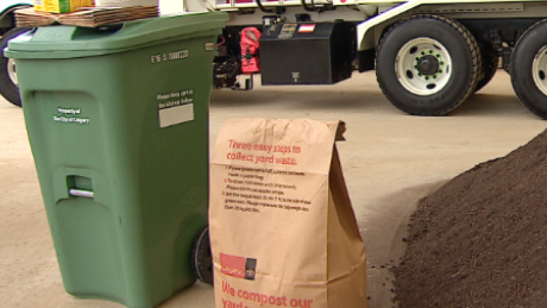 City of Calgary has lots of green (carts) to get rid of