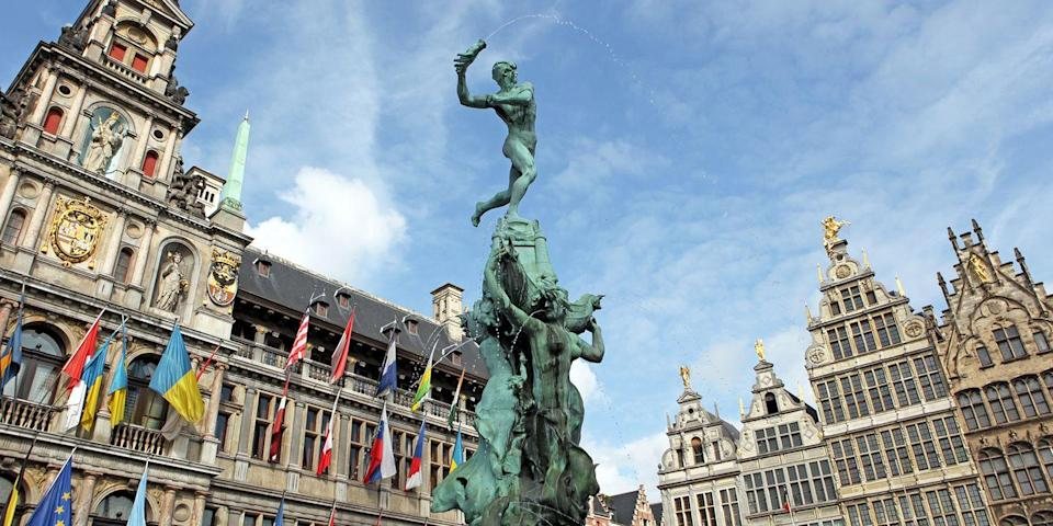 """<p>One of Europe's most buzzed-about places is Antwerp, a gorgeous port city on the River Scheldt. Check into the hip <a href=""""https://go.redirectingat.com?id=74968X1596630&url=https%3A%2F%2Fwww.tripadvisor.com%2FHotel_Review-g188636-d558498-Reviews-Hotel_Julien-Antwerp_Antwerp_Province.html&sref=https%3A%2F%2Fwww.redbookmag.com%2Flife%2Fg37132507%2Fup-and-coming-travel-destinations%2F"""" rel=""""nofollow noopener"""" target=""""_blank"""" data-ylk=""""slk:Hotel Julien"""" class=""""link rapid-noclick-resp"""">Hotel Julien</a>, lunch on moules frites and Belgian beer in the medieval <a href=""""https://go.redirectingat.com?id=74968X1596630&url=https%3A%2F%2Fwww.tripadvisor.com%2FAttraction_Review-g188636-d273960-Reviews-Grote_Markt_van_Antwerpen-Antwerp_Antwerp_Province.html&sref=https%3A%2F%2Fwww.redbookmag.com%2Flife%2Fg37132507%2Fup-and-coming-travel-destinations%2F"""" rel=""""nofollow noopener"""" target=""""_blank"""" data-ylk=""""slk:Grote Markt"""" class=""""link rapid-noclick-resp"""">Grote Markt</a> (central square), shop in the flagship boutique of famed Belgian designer Dries Van Noten, and check out the <a href=""""https://go.redirectingat.com?id=74968X1596630&url=https%3A%2F%2Fwww.tripadvisor.com%2FAttraction_Review-g188636-d311280-Reviews-Diamond_District-Antwerp_Antwerp_Province.html&sref=https%3A%2F%2Fwww.redbookmag.com%2Flife%2Fg37132507%2Fup-and-coming-travel-destinations%2F"""" rel=""""nofollow noopener"""" target=""""_blank"""" data-ylk=""""slk:Diamond District"""" class=""""link rapid-noclick-resp"""">Diamond District</a>, the centuries-old area where the majority of the world's diamonds are cut and traded.</p>"""