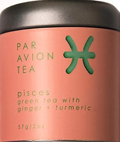 <p>This <span>Par Avion Pisces Tea</span> ($17) is green tea with ginger and turmeric.</p>