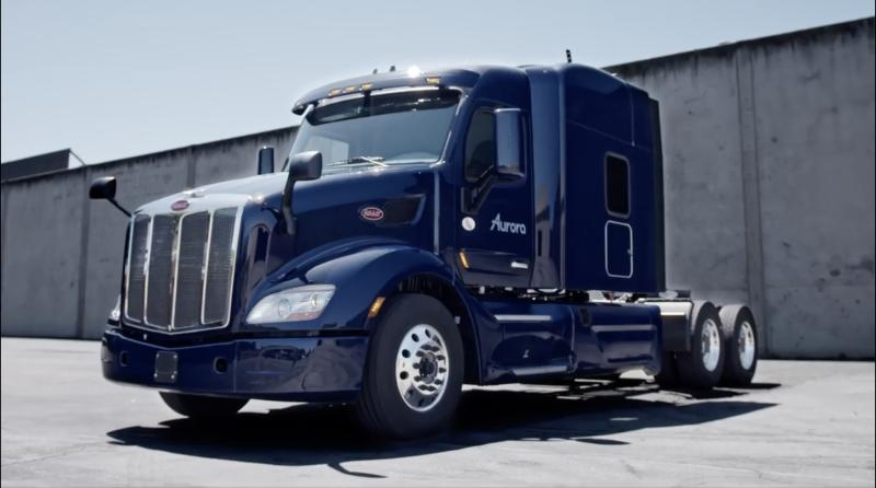 aurora self-driving trucks