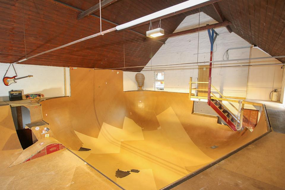 The skate park contains a bowl and 4ft tubes. (Rightmove/Attik)