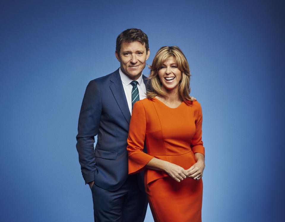 GOOD MORNING BRITAIN Weekdays on ITV, Pictured: Ben Shephard and Kate Garraway (ITV/Photographer : Jonathan Ford)