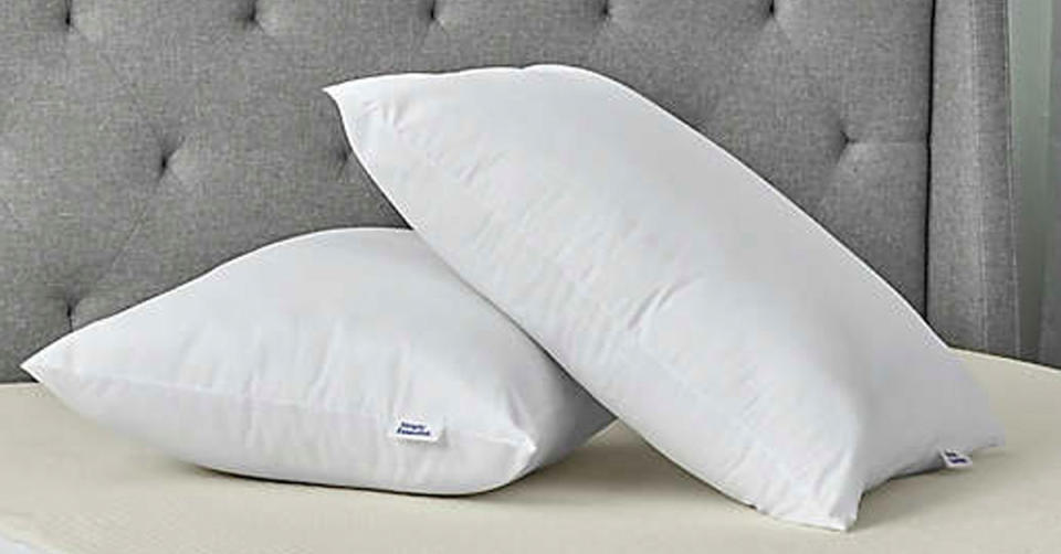 Simply Essential Microfiber Standard/Queen Bed Pillow (Photo: Bed Bath & Beyond)