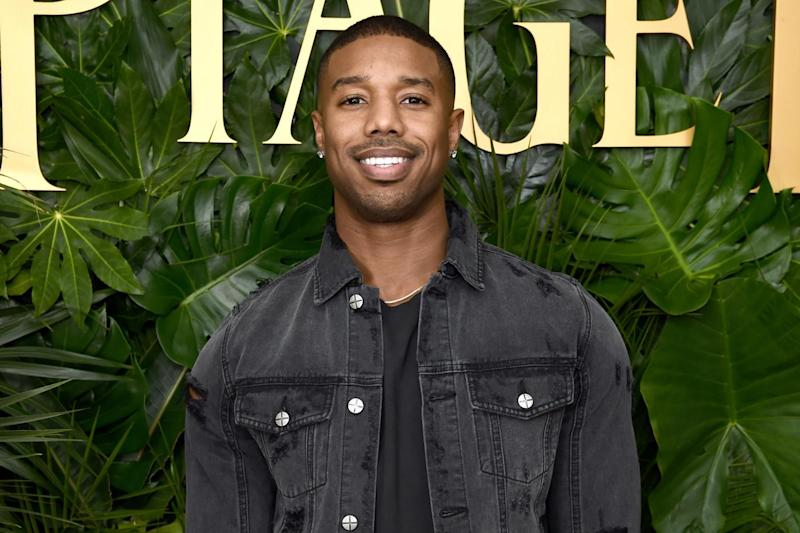 Pledge: Michael B Jordan says his production company will include inclusion riders after the clause was highlighted at The Oscars: Dimitrios Kambouris/Getty Images for Piaget