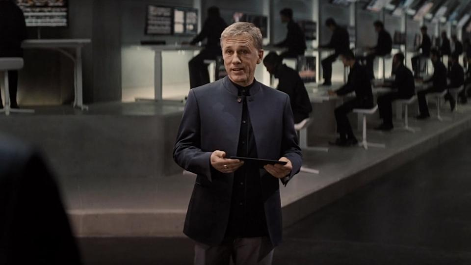 Christoph Waltz as Blofeld in Spectre (Credit: MGM/Columbia)