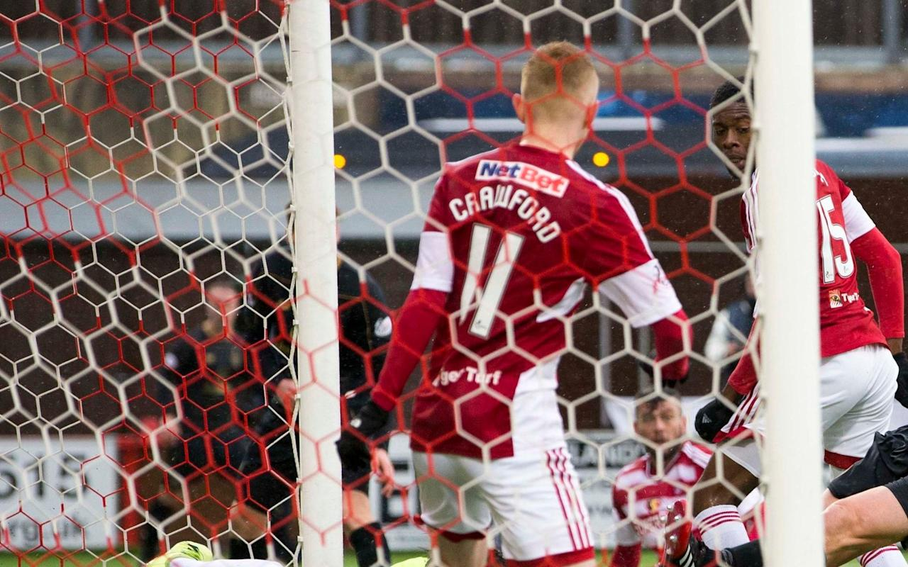 Hamilton 4 Dundee 0: Accies to face Dundee United in play-off as Inverness are relegated