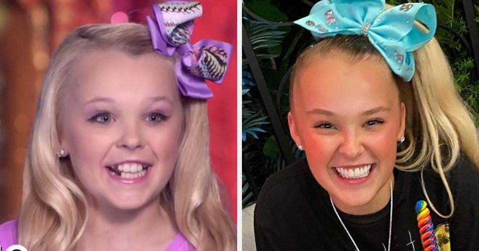 Then: A 9-year-old dancer at ALDC best known for her iconic bows.Now: After Dance Moms, JoJo's career soared. She started singing, acting, and vlogging, which gained her over 12 million YouTube subscribers. She also has a number of JoJo-themed products like bows, dolls, bedding, board games, makeup, and even ice cream. She's written several books and appeared on many TV shows, including The Masked Singer, where she was revealed to be T. rex. She even has an upcoming Peacock show calledThe Siwa DancePopRevolution. In 2020, JoJo was named one of Time's Most Influential People.Follow her on IG here.
