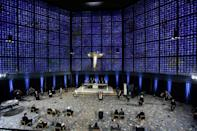 An ecumenical service at the Kaiser Wilhelm Memorial Church was followed by a ceremony later at Berlin's Konzerthaus concert hall