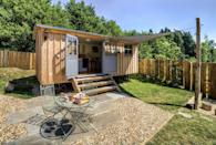 """<p>Surrounded by peaceful, bucolic farmland in Somerset, England, the <a href=""""http://www.theshepherdshutretreat.co.uk/"""" rel=""""nofollow noopener"""" target=""""_blank"""" data-ylk=""""slk:Shepherds Hut Retreat"""" class=""""link rapid-noclick-resp"""">Shepherds Hut Retreat</a> is comprised of four tiny """"huts"""" available for rent. Each structure overlooks a nearby pond, and includes its own private deck and fire pit. Inside the 20- by eight-foot huts, you'll find a fully functioning kitchen, a bathroom, a dining area, and a built-in bed. Rental rates start from around $243 per weekend.</p><p><a class=""""link rapid-noclick-resp"""" href=""""https://go.redirectingat.com?id=74968X1596630&url=https%3A%2F%2Fwww.tripadvisor.com%2FHotel_Review-g666345-d4859719-Reviews-The_Shepherds_Hut_Retreat-Crewkerne_Somerset_England.html&sref=https%3A%2F%2Fwww.oprahdaily.com%2Flife%2Fg35047961%2Ftiny-house%2F"""" rel=""""nofollow noopener"""" target=""""_blank"""" data-ylk=""""slk:PLAN YOUR TRIP"""">PLAN YOUR TRIP</a> <a class=""""link rapid-noclick-resp"""" href=""""http://www.theshepherdshutretreat.co.uk/the-huts/"""" rel=""""nofollow noopener"""" target=""""_blank"""" data-ylk=""""slk:SEE INSIDE"""">SEE INSIDE</a></p>"""