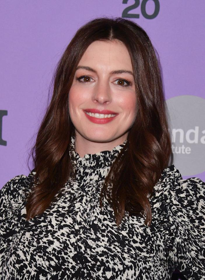 "<p>For brunettes, glossy burgundy hues like Anne Hathaway's catch and reflect the summer sunshine beautifully, says Gina Rivera, Founder of <a href=""https://phenixsalonsuites.com/"" target=""_blank"">Phenix Salons</a>. </p>"