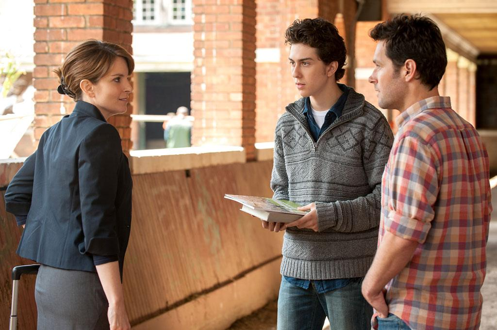 """Tina Fey, Nat Wolff and Paul Rudd in Focus Features' """"Admission"""" - 2013"""