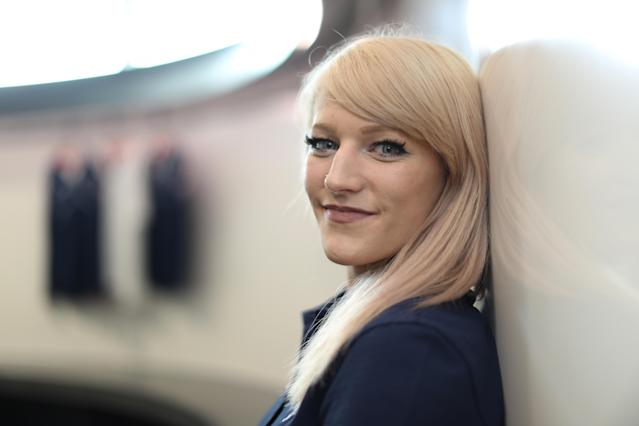 <p>PyeongChang Winter Olympic hopeful Elise Christie poses for photographs at The Orium sports complex on August 18, 2017 in Edinburgh, Scotland. (Photo by Ian MacNicol/Getty Images) </p>