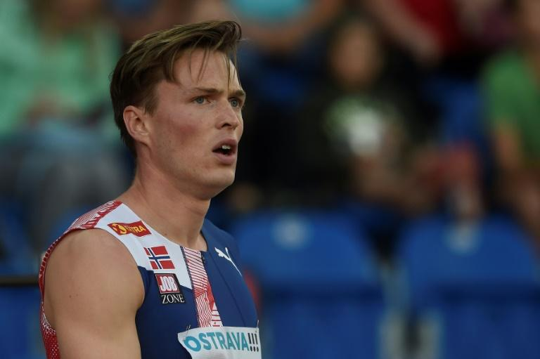 Warholm misses out on 400m hurdles world record