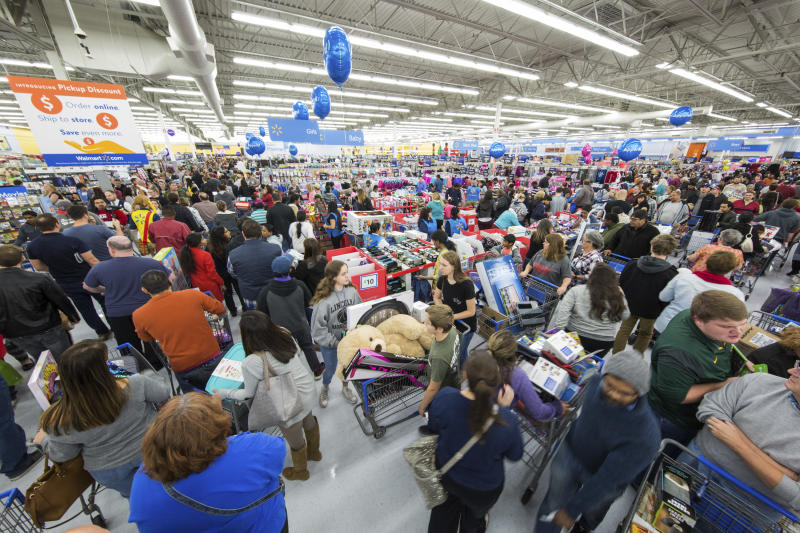 Walmart is doing Black Friday the earliest in its history