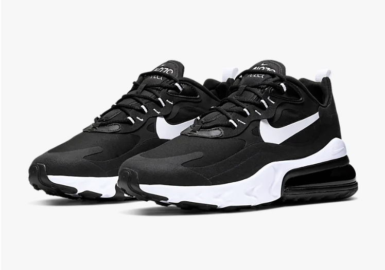 Nike Air Max 270 React (Black/White)