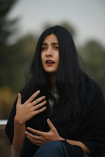 """In this country, you don't know what limits you have crossed...because they kill you for everything,"" says model and student Eman Suleman, who received death threats online"