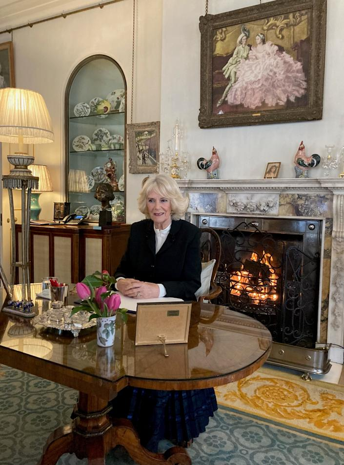 The Duchess of Cornwall is a patron of SafeLives after taking time to establish a connection with the charity. (Clarence House)