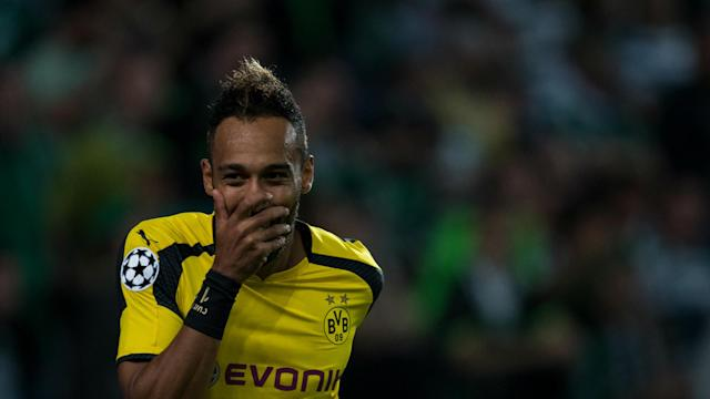 Pierre-Emerick Aubameyang has vowed to do everything within his powers to help Borussia Dortmund see off arch-rivals Schalke next month.