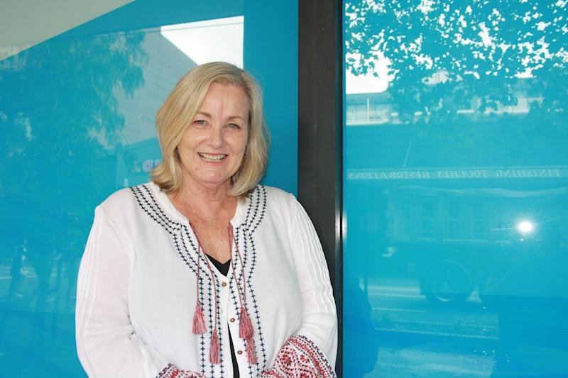 Jennifer Frendin is pictured here. She is the Odyssey House Director of Community Services.