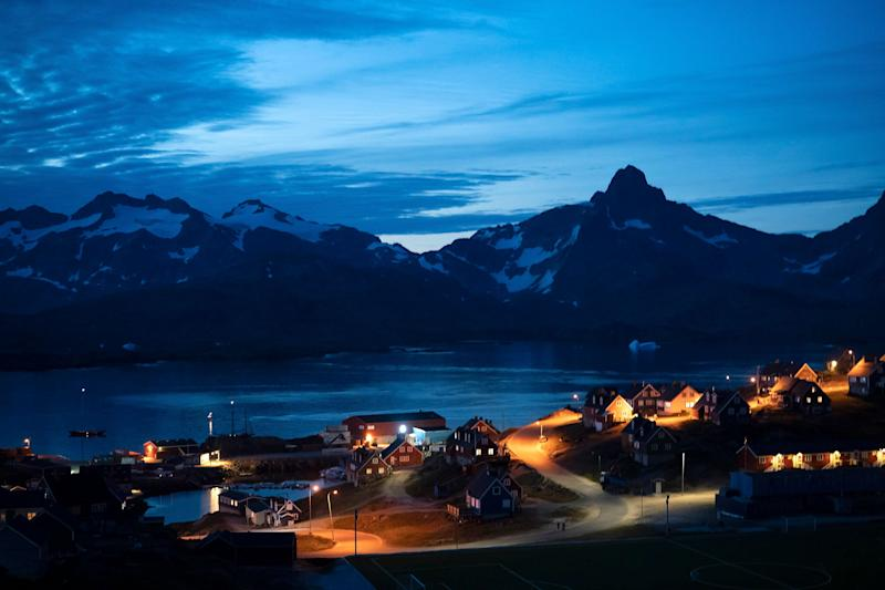 Greenland may become more important in global trade routes in the coming decades due to melting Arctic ice. (Photo: ASSOCIATED PRESS)