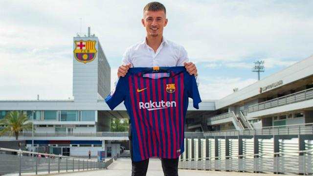 Mike van Beijnen, 20, has moved to Barcelona on a free transfer from NAC Breda.