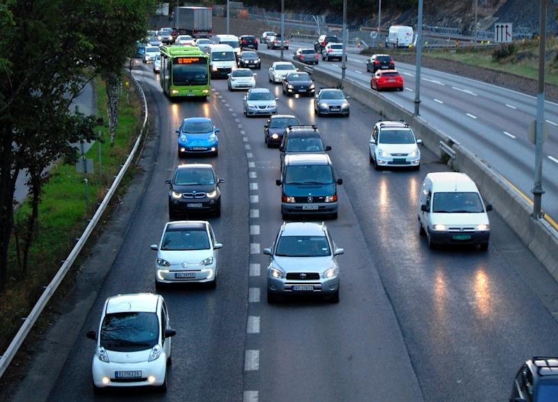 The ban on automobiles is part of Oslo's plan to slash emissions of greenhouse gases by 50 percent by 2020 compared to 1990 levels (AFP Photo/Pierre-Henry Deshayes)