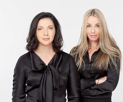 From left to right: Irina Nevzlin, Founder and Chairman of IMPROVATE, and Ronit Hasin Hochman, CEO of IMPROVATE (Photo: Yanni Yacial) (PRNewsfoto/IMPROVATE)