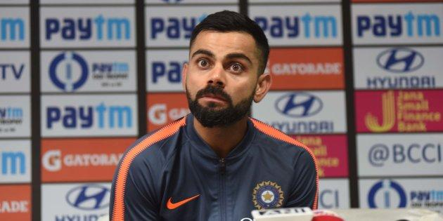 Virat Kohli in a file photo.