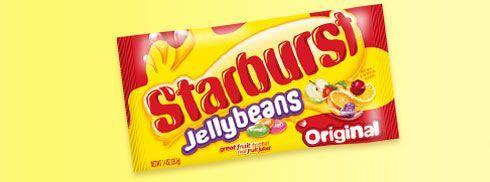 <p><strong>Starburst Jellybeans</strong></p><p>Modeled after the OG Starburst candies, these jellybeans were released only two decades ago and quickly became a favorite — especially around Easter. </p>