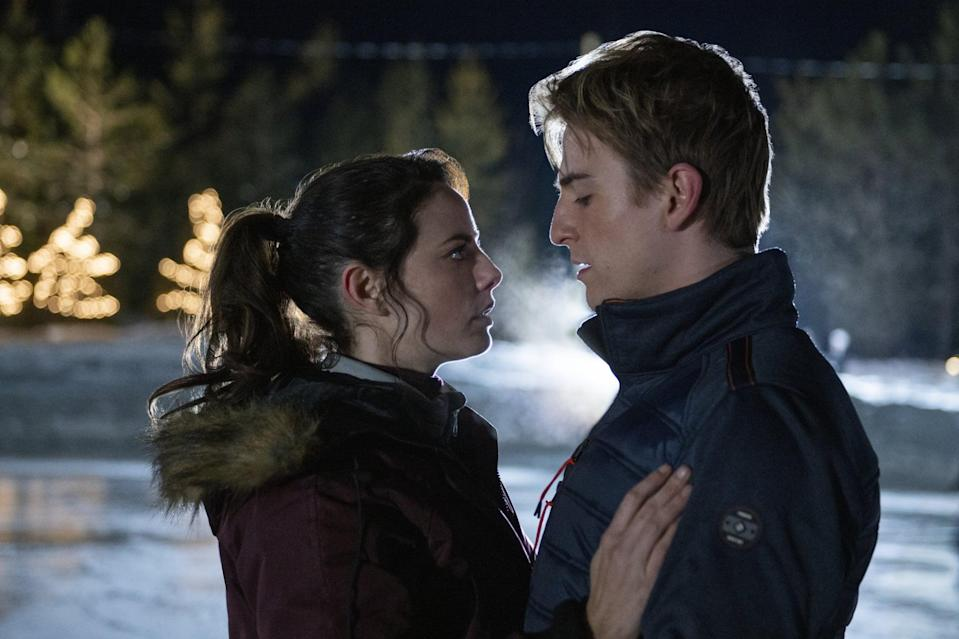 """<p> A figure skater with a dream of going to the Olympics struggles to balance love, family, and her own mental health. </p> <p><a href=""""http://www.netflix.com/title/80201590"""" class=""""link rapid-noclick-resp"""" rel=""""nofollow noopener"""" target=""""_blank"""" data-ylk=""""slk:Watch  Spinning Out  on Netflix now."""">Watch <strong> Spinning Out </strong> on Netflix now. </a></p>"""